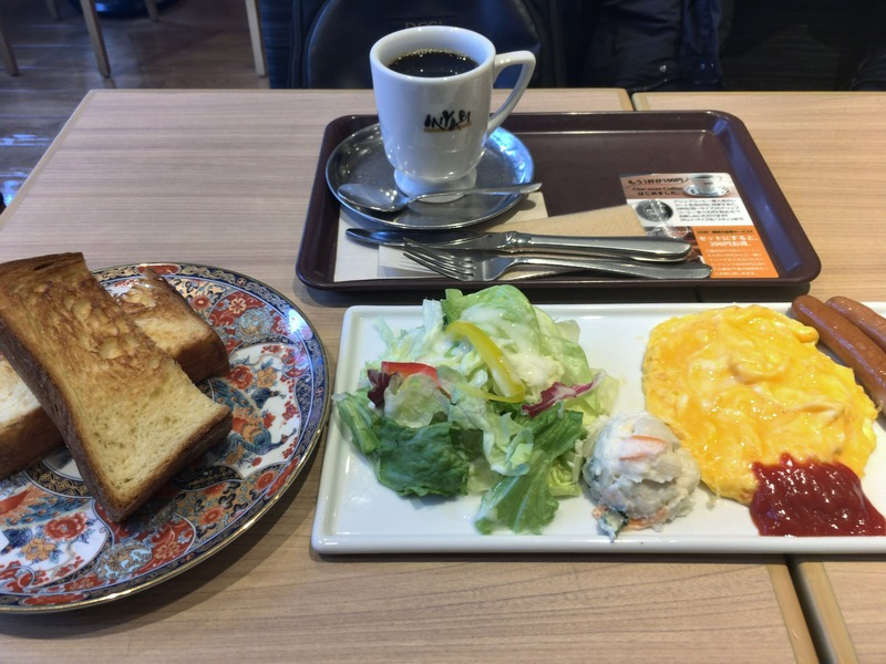 CAFE&BAKERY MIYABIのモーニング