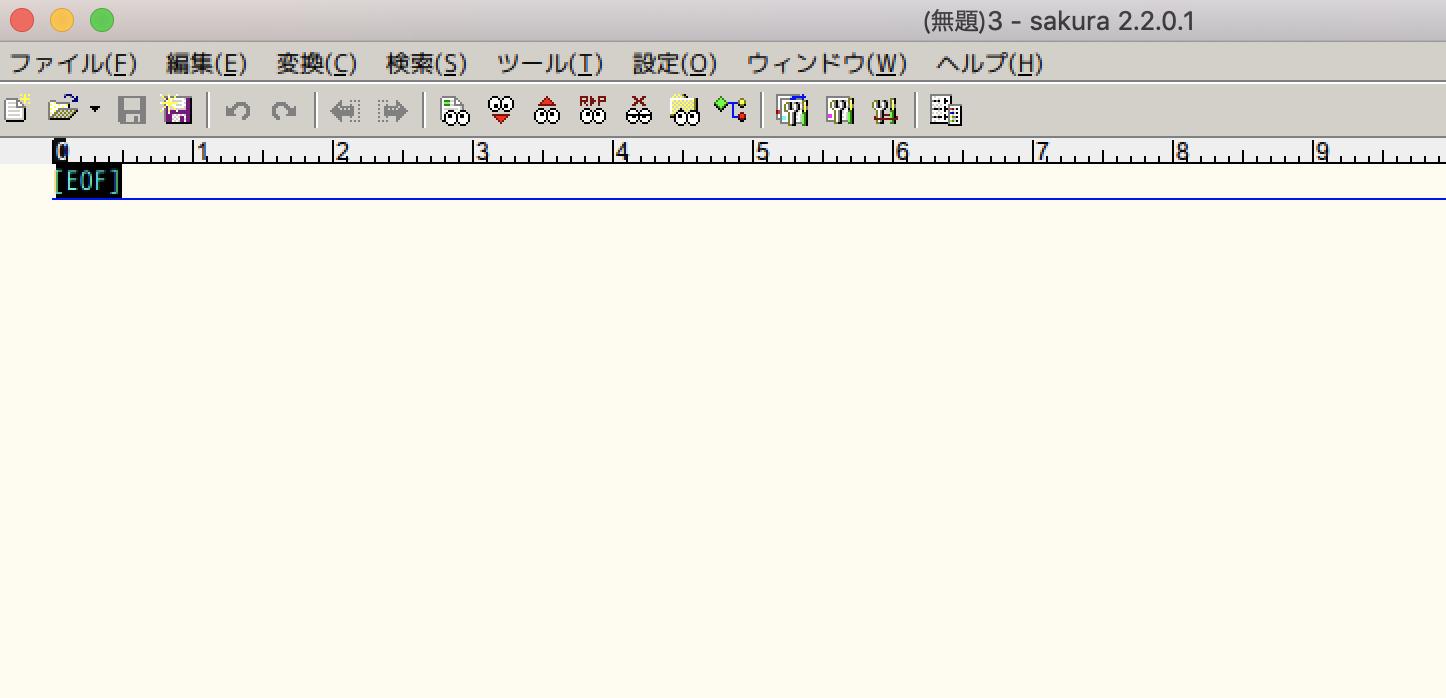 exeファイルが開く